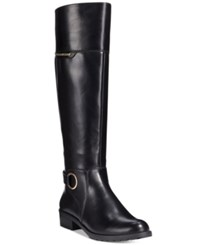 Alfani Women's Jadah Tall Wide Calf Riding Boots Only At Macy's Women's Shoes Black