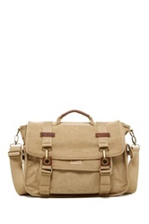 A. Kurtz Dogwood Messenger Bag Beige