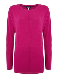 Joules Relaxed Fit Jumper Pink