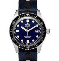 Oris Divers Sixty Five Stainless Steel Watch Black