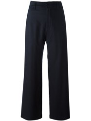 Barena High Waisted Trousers Blue
