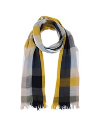 Bogner Oblong Scarves Grey