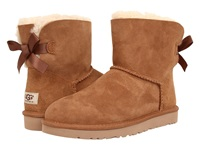 Ugg Mini Bailey Bow Chestnut Women's Boots Brown