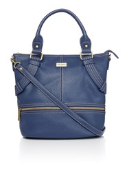 Ollie And Nic Gregory Navy Tote Bag Navy
