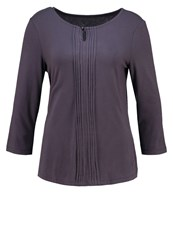 Tom Tailor Long Sleeved Top Coal Grey Anthracite