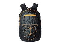 The North Face Borealis Asphalt Grey Citrine Yellow Backpack Bags Gray
