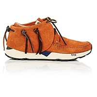 Visvim Men's Fbt Prime Mocassin Sneakers Brown