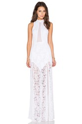 Nightcap X Revolve Jungle Lace Gown White