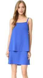 Grey Jason Wu Cami Double Layer Dress Ink Blue