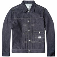 Sassafras Denim Gardener Jacket Blue