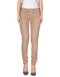 Twin Set Simona Barbieri Denim Denim Trousers Women Dove Grey