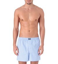 Ralph Lauren Gingham Boxers Light Blue