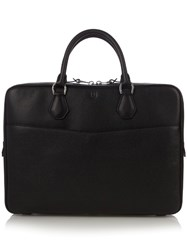 Dunhill Boston Leather Briefcase Black