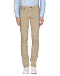 Versace Collection Trousers Casual Trousers Men Beige