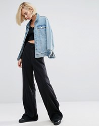Dr. Denim Dr Wide Leg Trouser Black