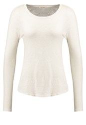 American Vintage Bikistate Long Sleeved Top Nacre Off White