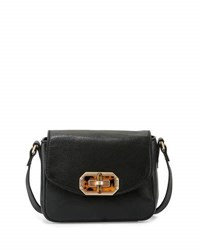 Foley Corinna Whitney Leather Combo Crossbody Bag Black