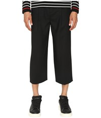 Mcq By Alexander Mcqueen Smith Trousers Darkest Black Men's Casual Pants