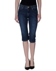 Gattinoni Jeans Denim Capris Blue