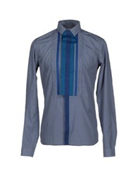 Richard Nicoll Shirts Dark Blue