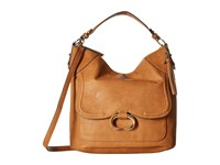 Jessica Simpson Estelle Crossbody Hobo Cognac Hobo Handbags Tan