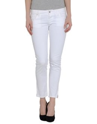 Two Women In The World Denim Pants White