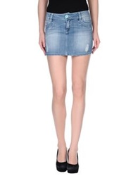 Jfour Denim Skirts Blue