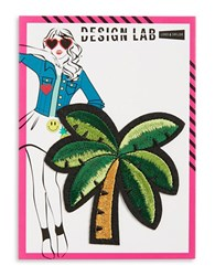 Design Lab Lord And Taylor Palm Tree Patch Green