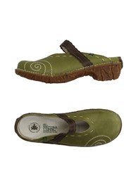 El Naturalista Mules Acid Green