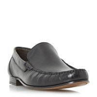 Roland Cartier Racer Moccasin Loafers Black
