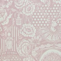 Pip Studio Dearest Peacock Wallpaper 313062 Pink