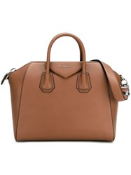 Givenchy Medium 'Antigona' Tote Brown