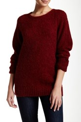Trovata Classic Wool Sweater Red
