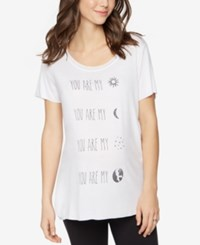 A Pea In The Pod Maternity Graphic Tee White