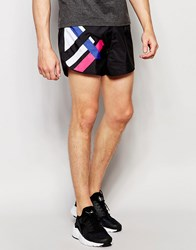 Religion Retro 80'S Runner Shorts Black