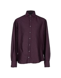 Michael Bastian Shirts Shirts Men Maroon
