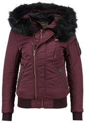 Khujo Blanc Winter Jacket Sassafras Bordeaux