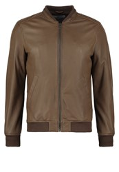 Chevignon Ted Leather Jacket Moka Brown