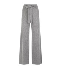 Harrods Of London Wide Leg Tracksuit Bottom Female Light Grey