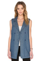 Sanctuary Walker Vest Marine Wash