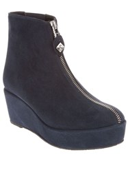 Opening Ceremony Zip Through Ankle Boot Blue
