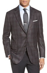 Peter Millar Men's 'Flynn' Classic Fit Plaid Wool Blend Sport Coat