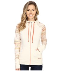 Marmot Callie Hoodie Turtle Dove 1 Women's Sweatshirt White