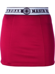 Nasir Mazhar Logo Elasticated Waistband Skirt
