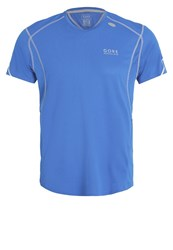 Gore Running Wear Essential Sports Shirt Brilliant Blue