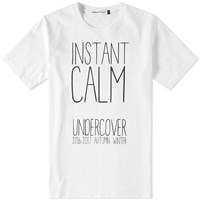 Undercover Instant Calm Tee White