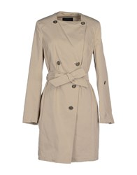 Les Copains Coats And Jackets Full Length Jackets Women Beige