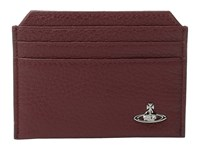 Vivienne Westwood Milano Small Card Holder Bordeaux Credit Card Wallet Burgundy