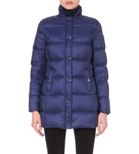 Armani Jeans Quilted Shell Jacket Bluette