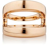 Hoorsenbuhs Women's Rose Gold Masque Ring Colorless